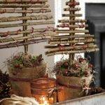 Turn Twigs Into Chic Christmas Decorations Woman