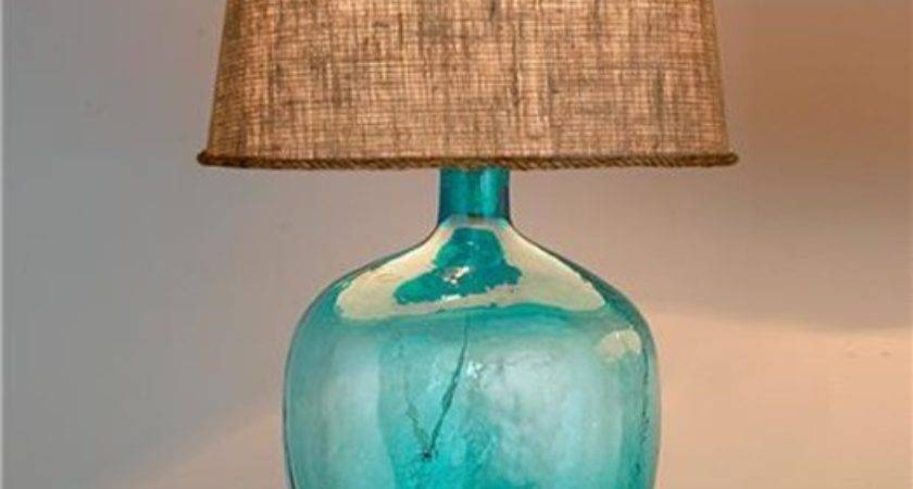 Turn Vase Into Coastal Glass Lamp