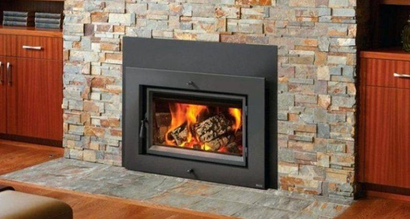 Turn Wood Stove Into Fireplace Installing Burning