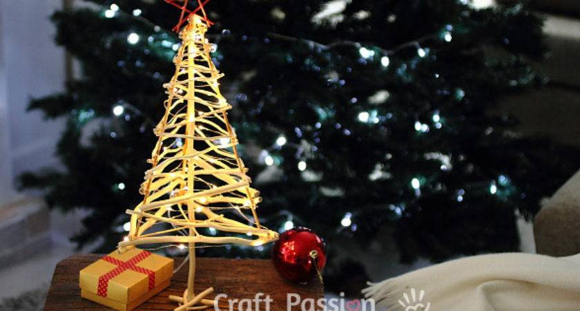 Twiggy Christmas Tree Diy Pattern Tutorial Craft Passion