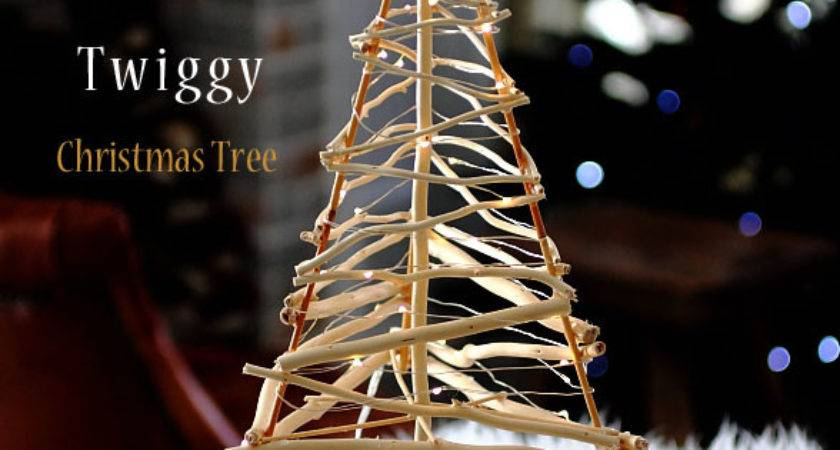 Twiggy Christmas Tree Diy Pattern Tutorial Craft