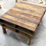 Two Pallet Rustic Coffee Table Pallets