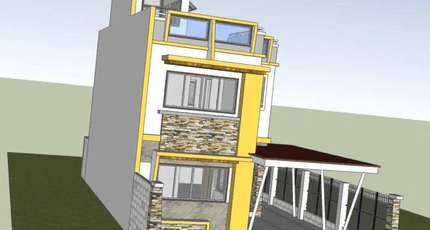 Two Storey House Roof Deck Youtube Plans