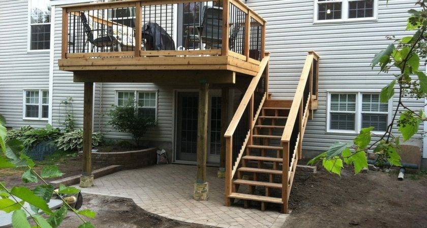 Two Story Decks Stairs Ottawa Hoyle Contracting