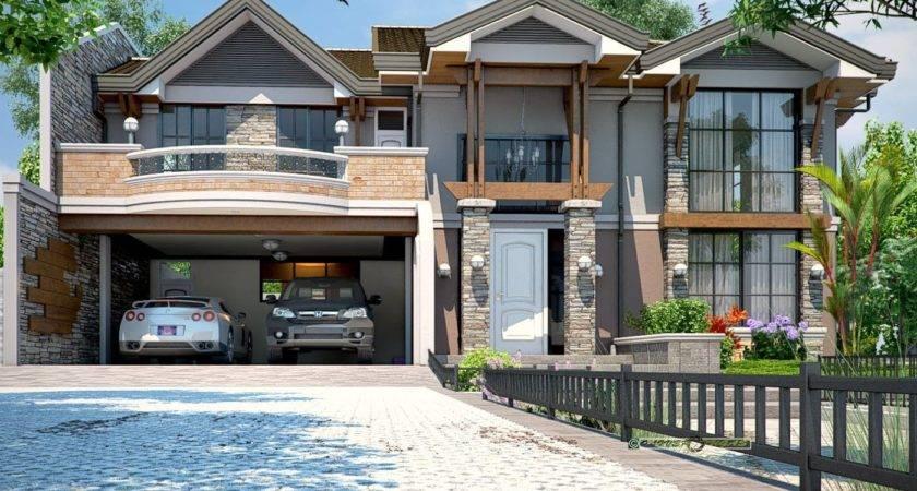 Two Story Dream Home Design Architecture Art