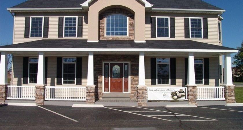 Two Story Modular Home Modern