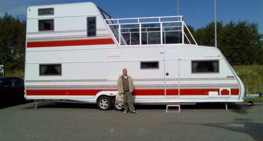 Two Story Travel Trailer Floors Walk Out