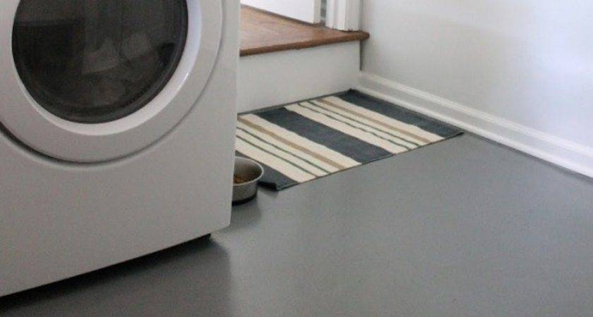 Types Recommended Laundry Room Floor Paints