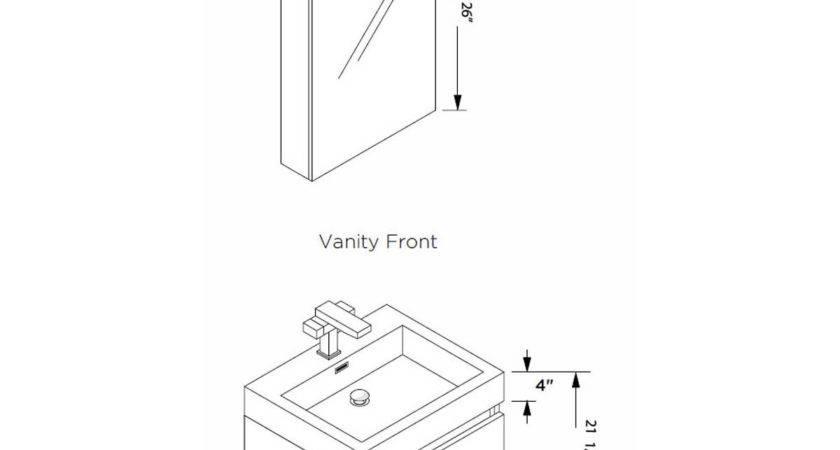 Typical Bathroom Vanity Standard Double
