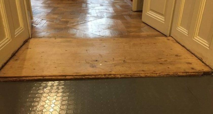 Ugly Uneven Floor Transitions Between Areas