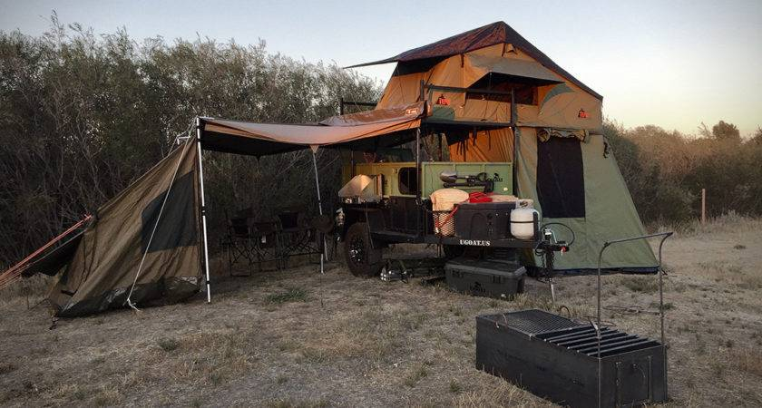 Ugoat Scout Off Road Camping Trailer Hiconsumption