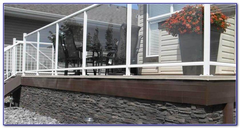 Under Deck Skirting Ideas Decks Home Decorating