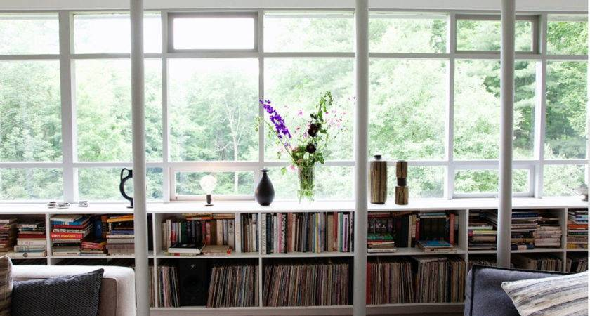 Under Window Bookcase Compact Stunning Storage
