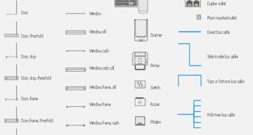 Understanding Blueprints Floor Plan Symbols House