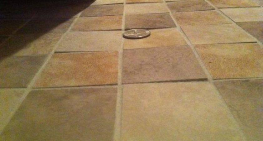 Uneven Floor Tiles Fixable