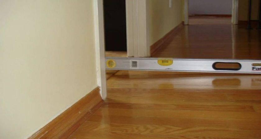 Uneven Floors Sticking Doors Bay Crawlspace