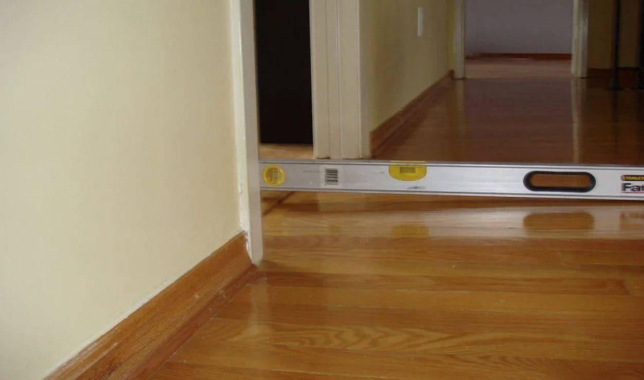 uneven floors sticking doors bay crawlspace  get in the