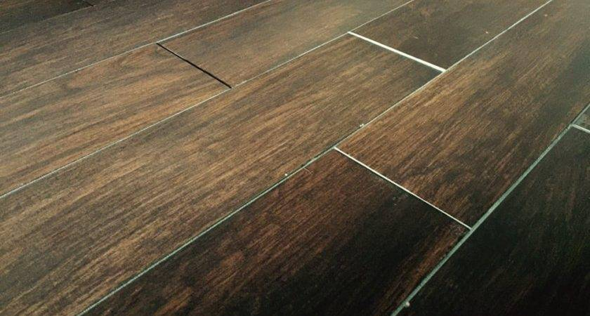 Uneven Wood Look Tile Yelp
