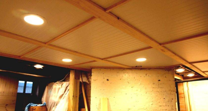 Unfinished Basement Ideas Low Ceiling Goodhomez