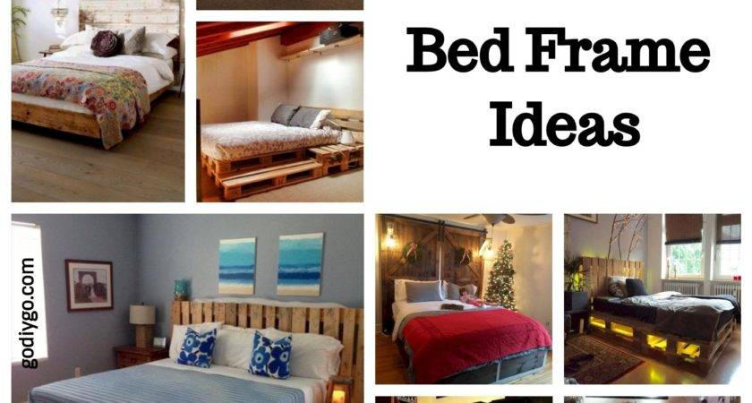 Unique Diy Pallet Bed Frame Ideas Godiygo