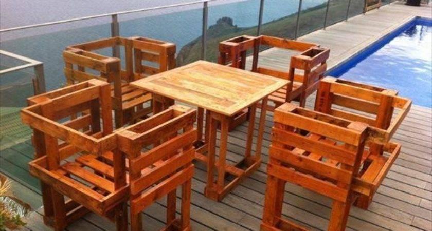 Unique Diy Wooden Pallet Table Ideas Pallets Designs