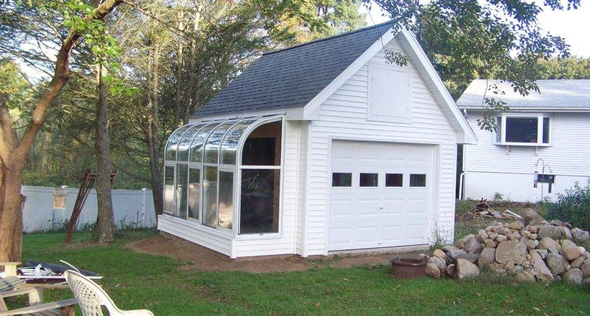 Unique Greenhouse Enclosure Add Garage Makes