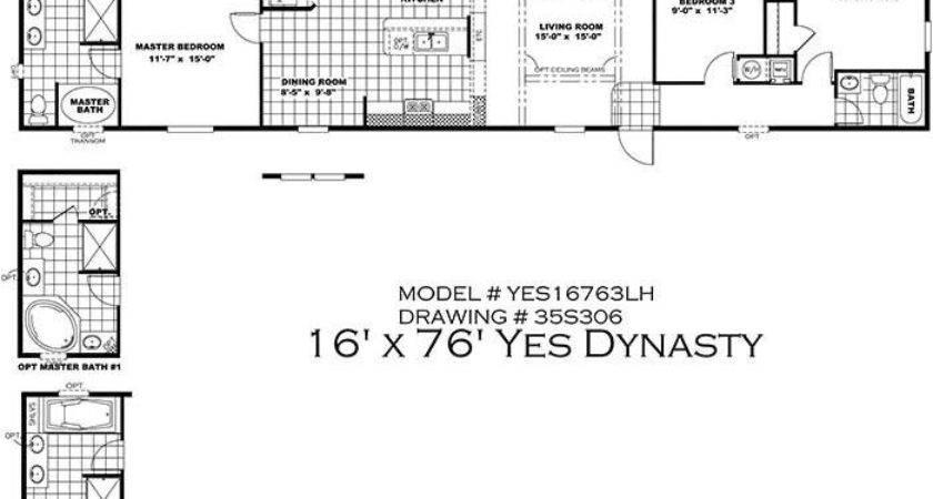Unique Mobile Home Floor Plans New Design