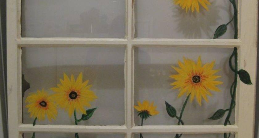 Unique Old Windows Painted Ideas Pinterest