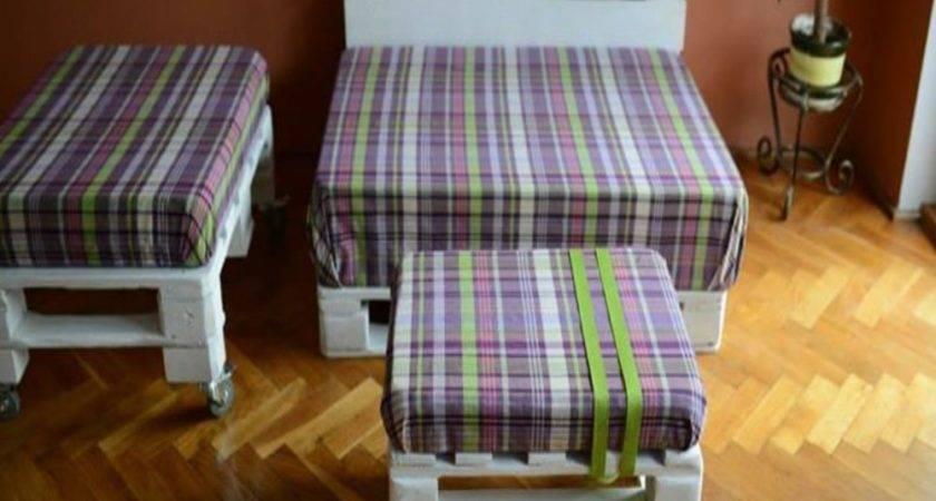 Unique Pallets Furniture Set Pallet Ideas Recycled