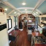 Unique School Bus Conversion Floor Plans
