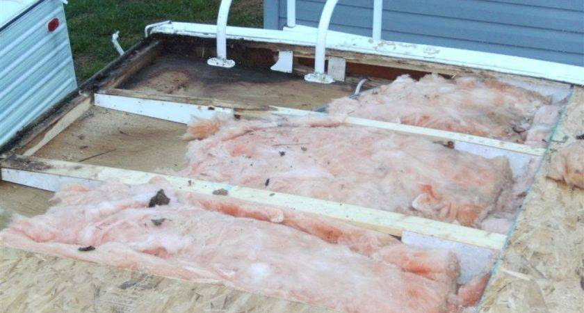 Unique Travel Trailer Roof Replacement Repair