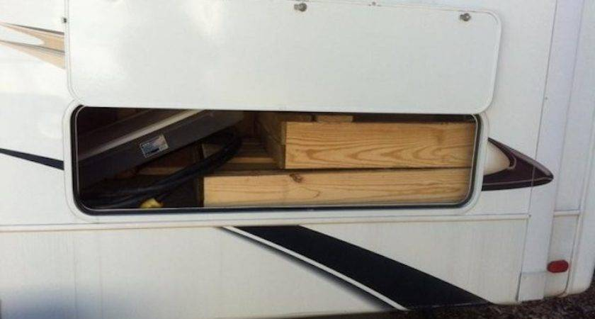 Unique Wooden Portable Steps Your Travel Trailer