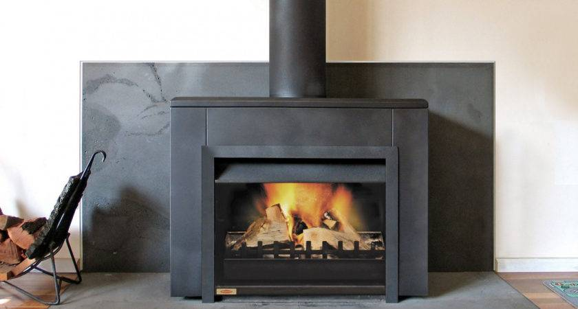 Universal Freestanding Wood Fireplace Burning