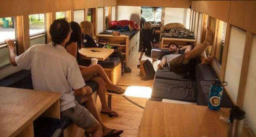 Upcycled School Bus Homes Home