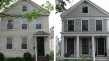 Urban Cottage Greek Revival Exterior Renovation