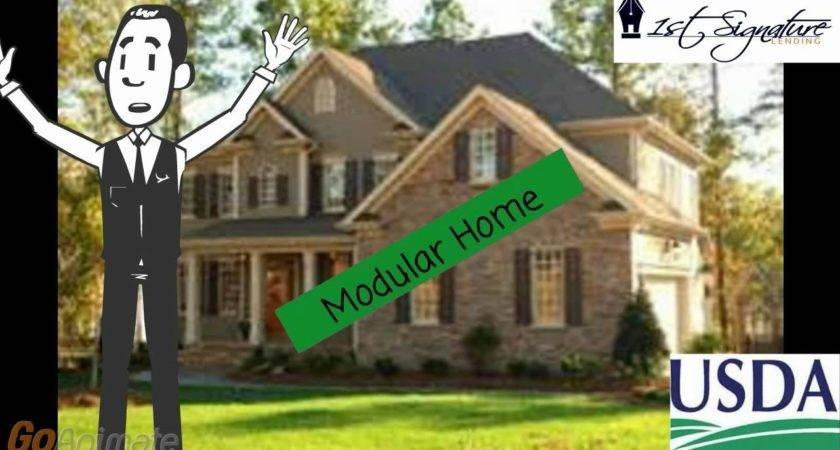 Usda Modular Home Construction Loan Youtube