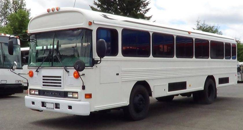 Used Blue Bird All American Front Engine Commercial Bus