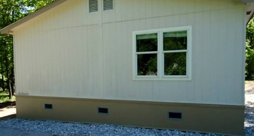 Used Mobile Home Skirting Ideas Homes