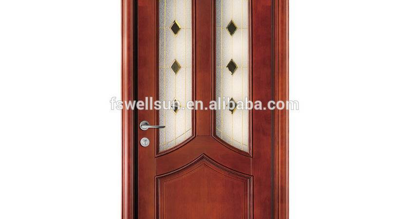 Used Open Paint Solid Wood Interior Doors Entrance