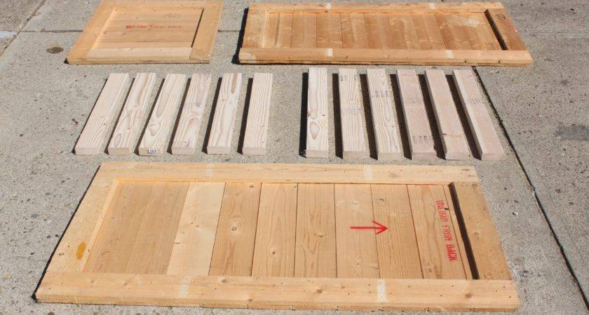 Using Pallets Build Canning Pantry Cupboard Old