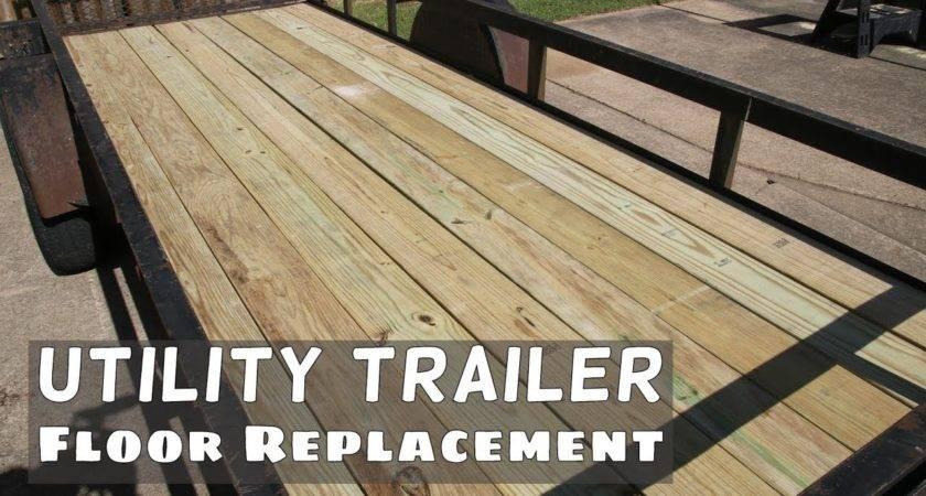 Utility Trailer Flooring Gurus Floor