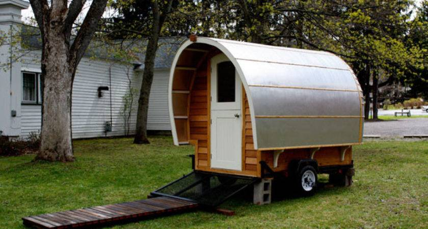 Vardo Beautiful Small Trailer Home Mobile