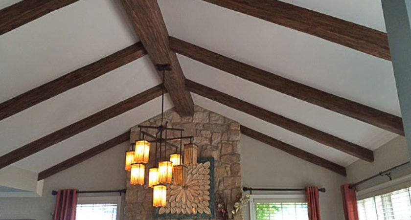 Vaulted Ceiling Beams Photos Ideas Inspire