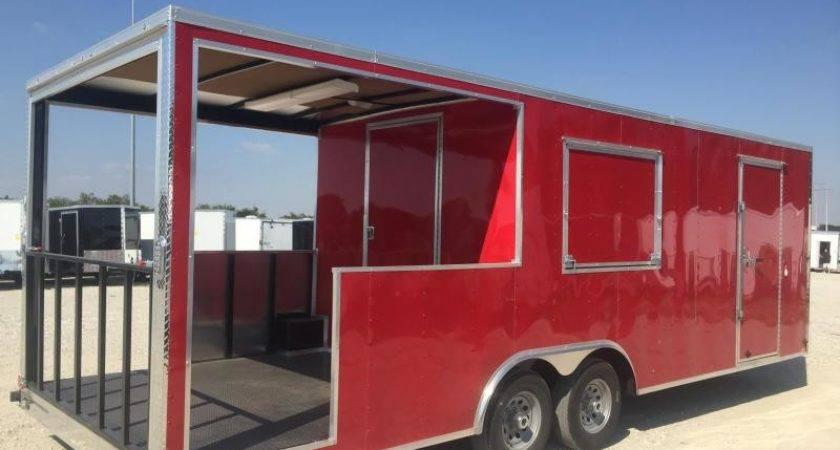 Vending Concession Enclosed Trailers Cargo