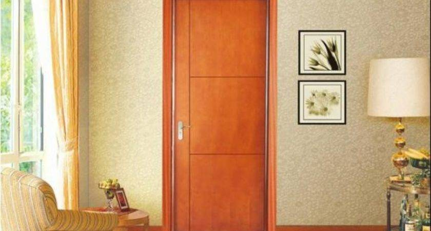 Veneer Painting Door Natural Wood Customized