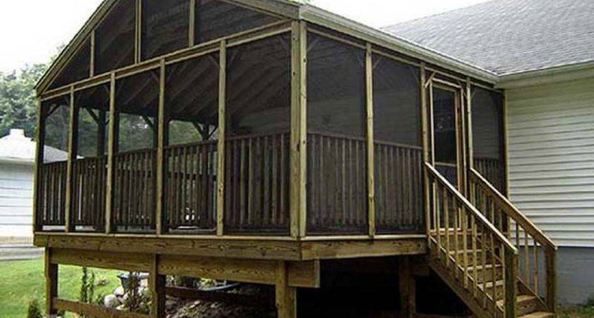 Veranda Designs Screened Porch Ideas Rustic