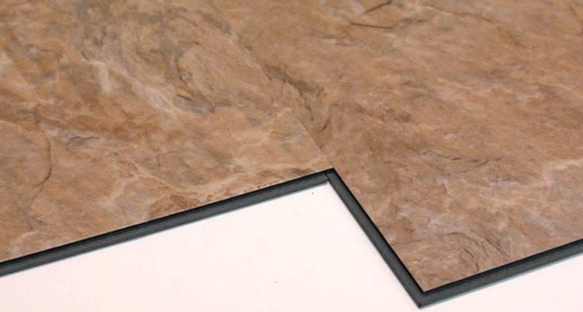 Versaclic Sahara Slate Floating Vinyl Tile