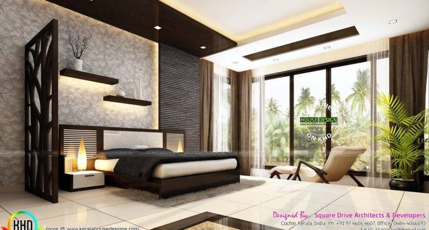 Very Beautiful Modern Interior Designs Kerala Home