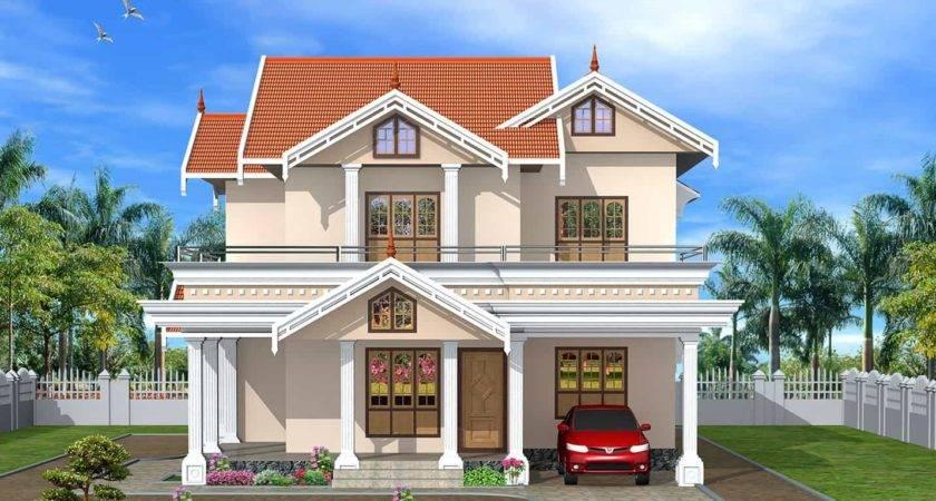 Very Cute Kerala Home Design