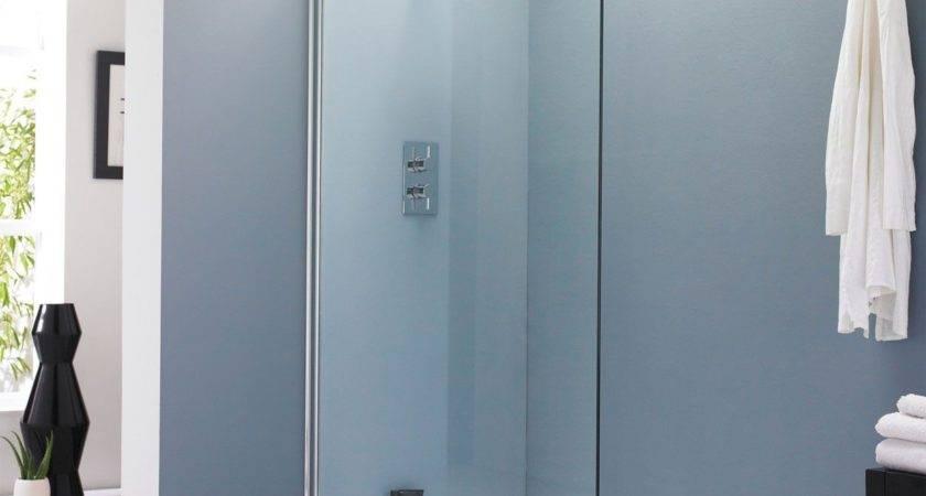 Vetro Wet Room Glass Shower Screen Bath